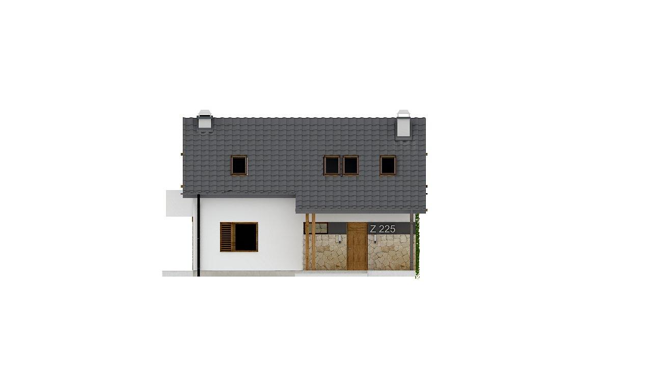 Практичный аккуратный дом с мансардой, с удобной функциональной планировкой. 21