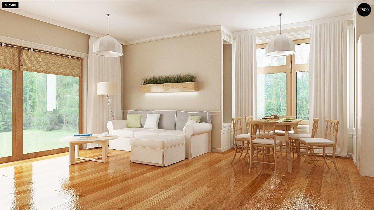 Проект традиционного дома с возможностью адаптации чердачного помещения. 4