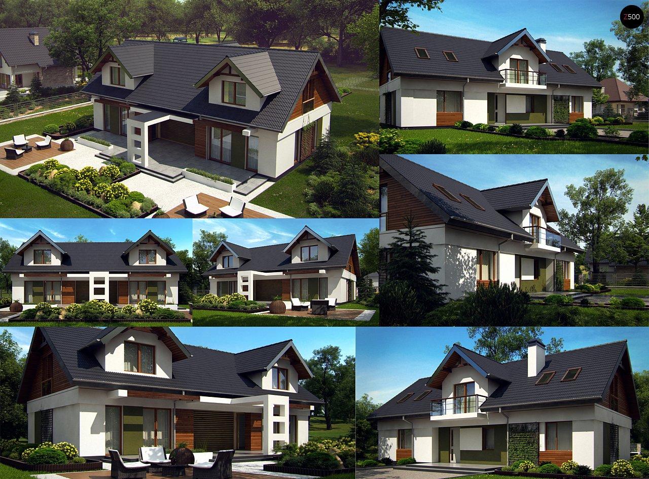 Практичный двухквартирный дом с общими входом и техническим помещением. 8