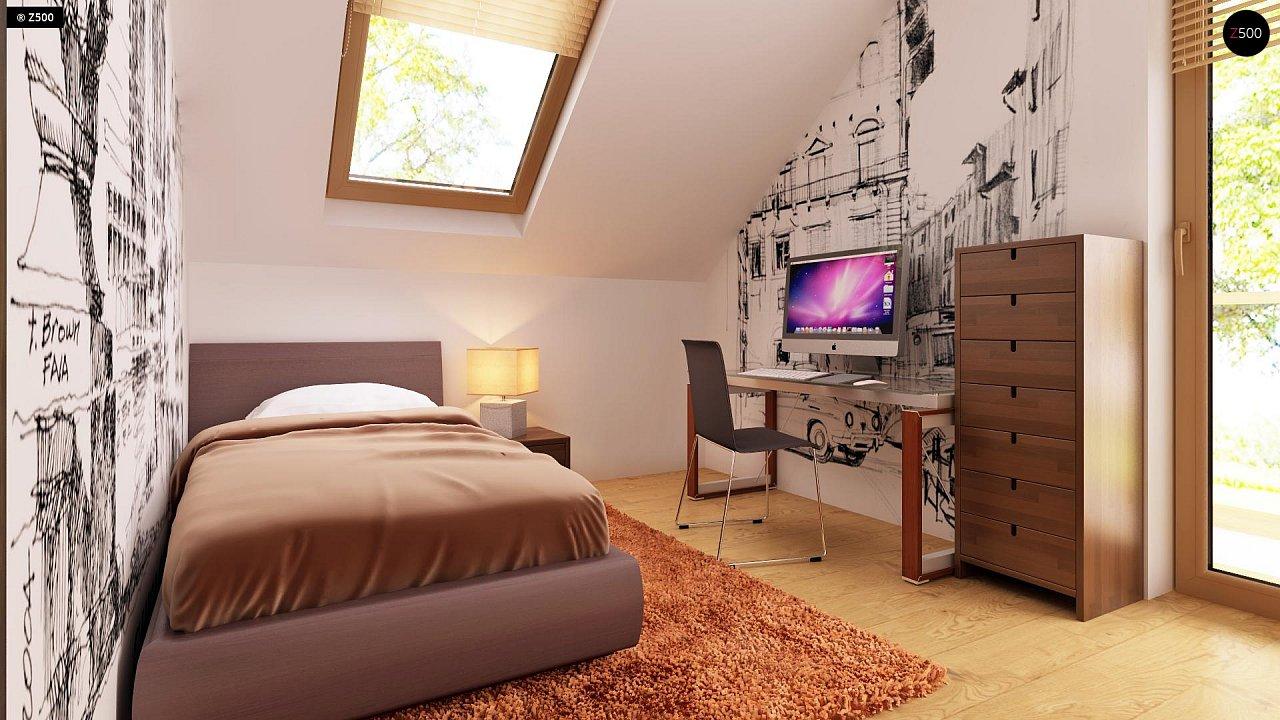 Очаровательный и практичный дом с мансардой в традиционном стиле. 18