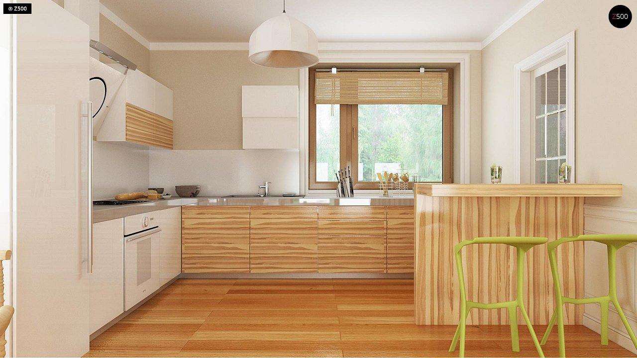 Проект традиционного дома с возможностью адаптации чердачного помещения. 7