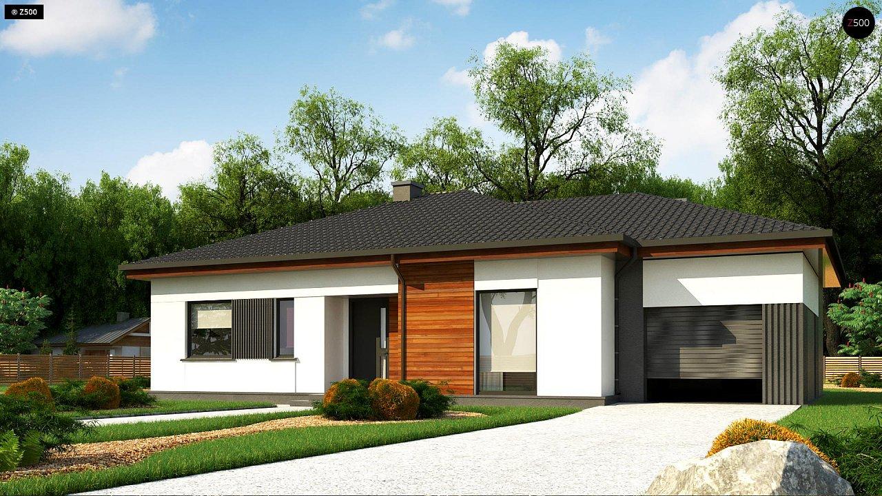 Удобный одноэтажный дом небольшой площади 3