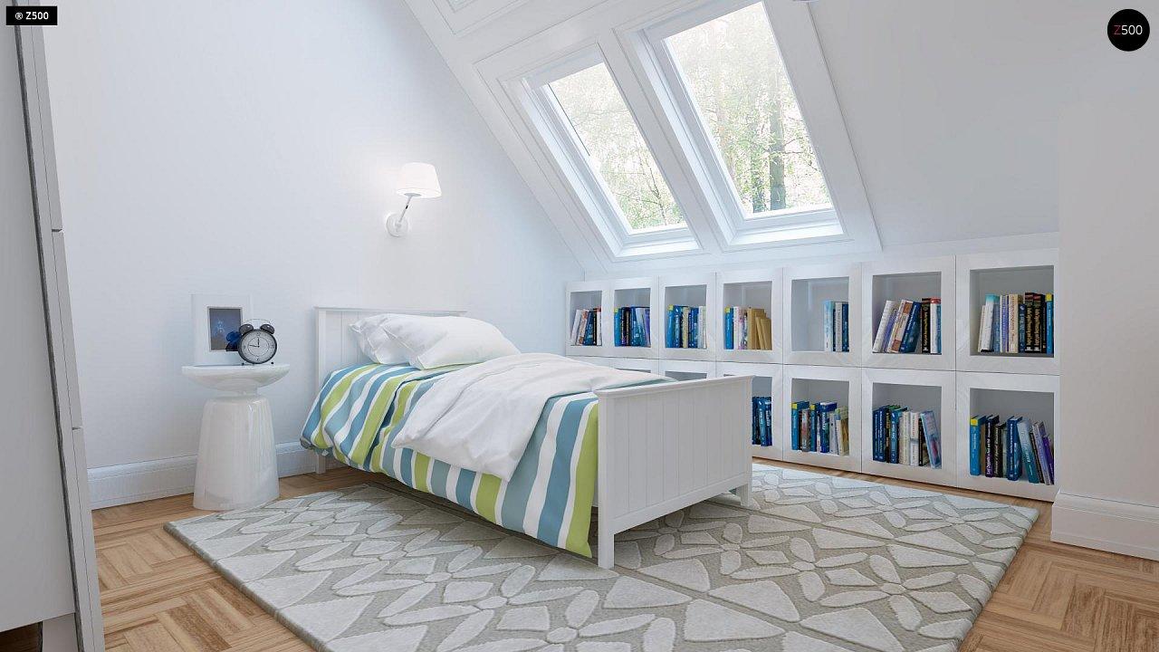 Удобный и красивый дом с красивым окном во фронтоне. 10