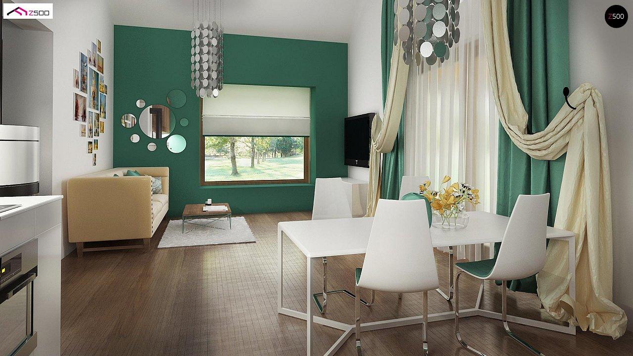 Маленький и функциональный одноэтажный дом, выгодный в строительстве и эксплуатации. - фото 6