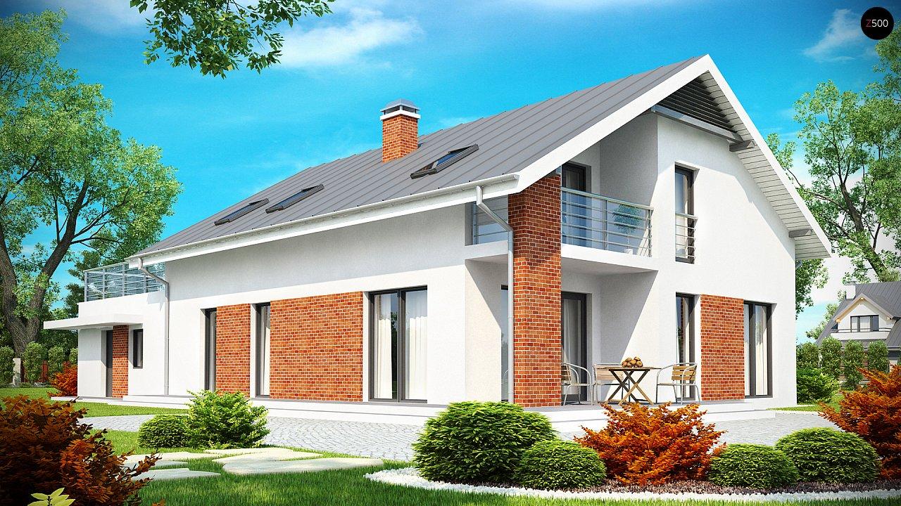 Просторный и комфортный дом со встроенным гаражом и двумя спальнями на первом этаже. 2