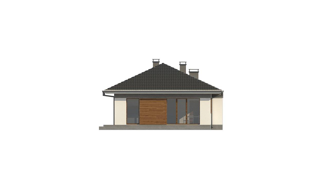Проект уютного одноэтажного дома с 3 спальнями 9