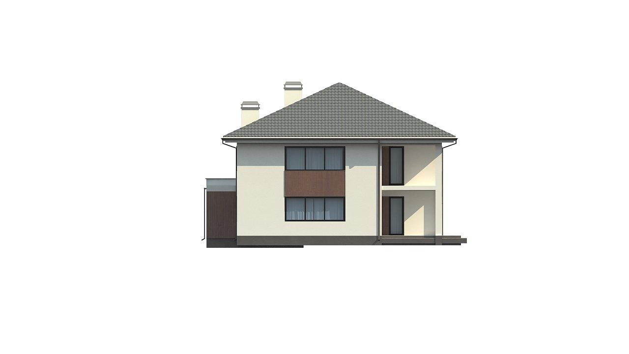 Элегантный комфортабельный двухэтажный дом с современными элементами архитектуры. - фото 4
