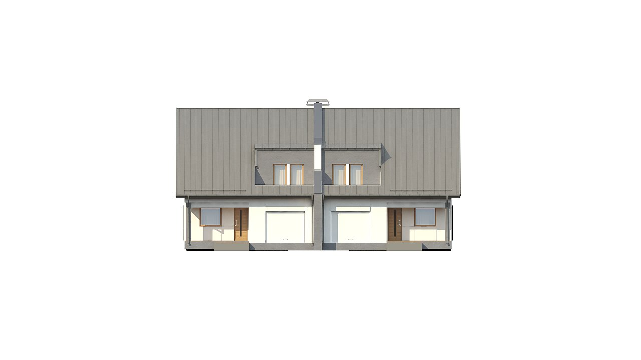 Проект домов близнецов для двух дружественных семей. - фото 5