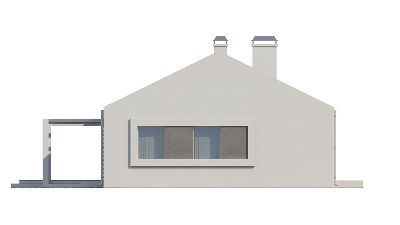 Простой и недорогой в строительстве энергосберегающий дом современного дизайна. 16