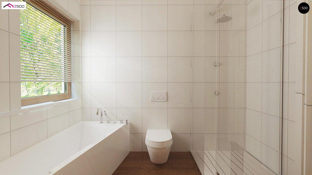 Выгодный и простой в строительстве дом полезной площадью 100 м2. 11