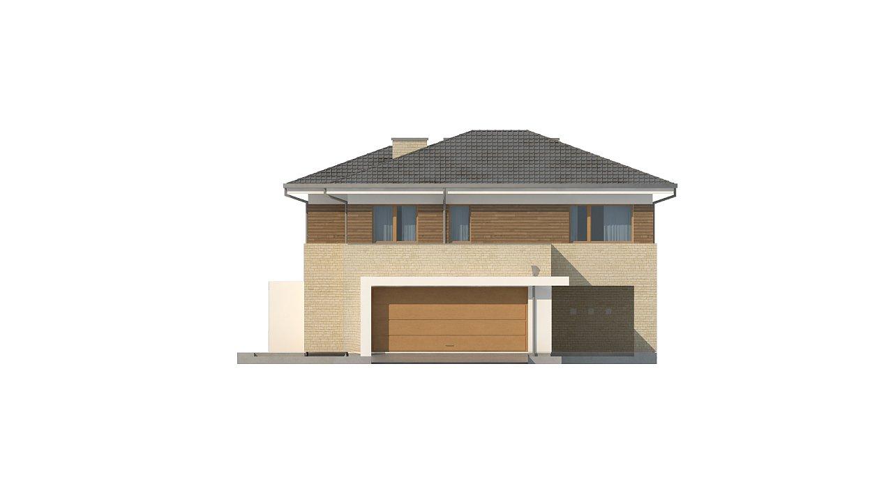Современный комфортный двухэтажный дом с баней 10
