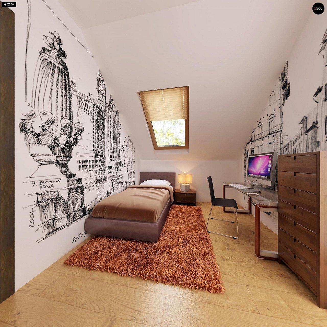 Очаровательный и практичный дом с мансардой в традиционном стиле. 17