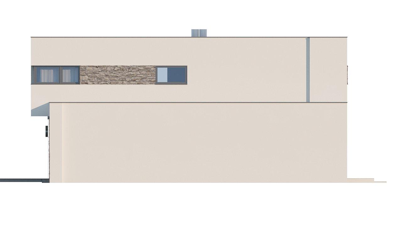 Комфортабельный особняк в стиле модерн элегантного дизайна. 10