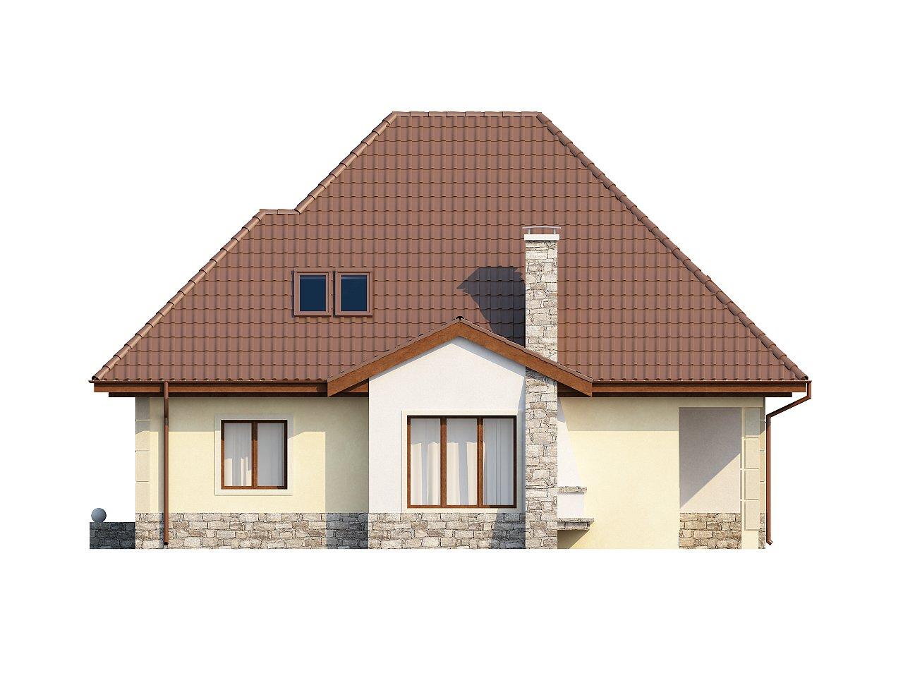Просторный функциональный дом сложной формы. - фото 5
