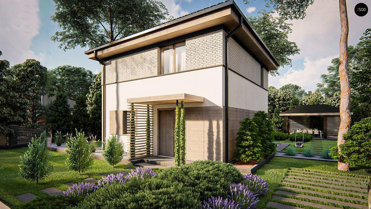 Функциональный двухэтажный дом 4