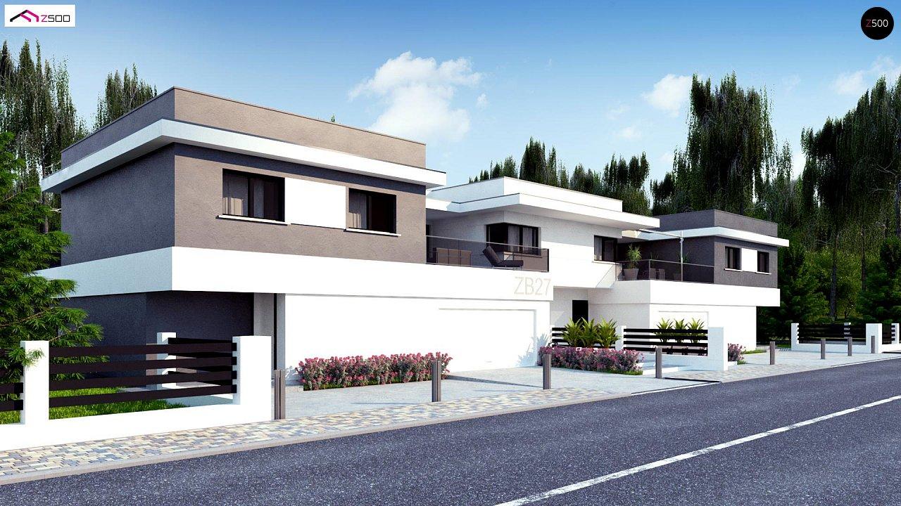 Современный двухсемейный дом с отдельными входами - фото 1