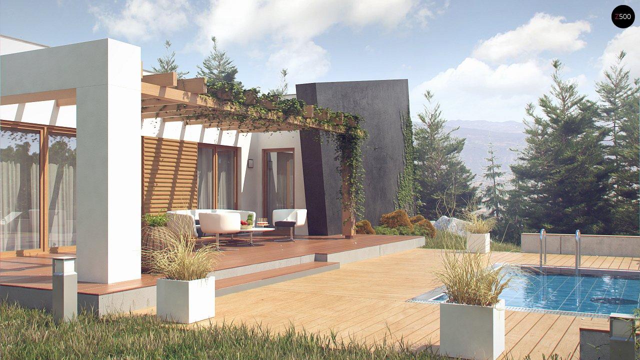 Одноэтажный дом исключительного современного дизайна. 3