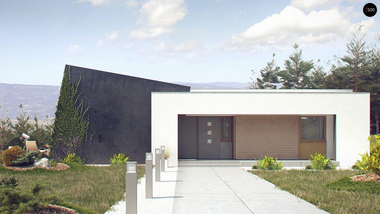 Одноэтажный дом исключительного современного дизайна. - фото 9