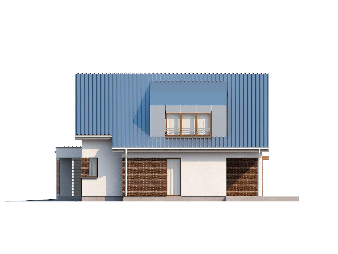 Компактный функциональный дом с оригинальными архитектурными элементами. 6
