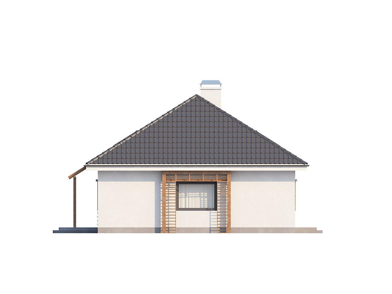 Удобный и красивый дом традиционного характера с двумя дополнительными спальнями на первом этаже. 6