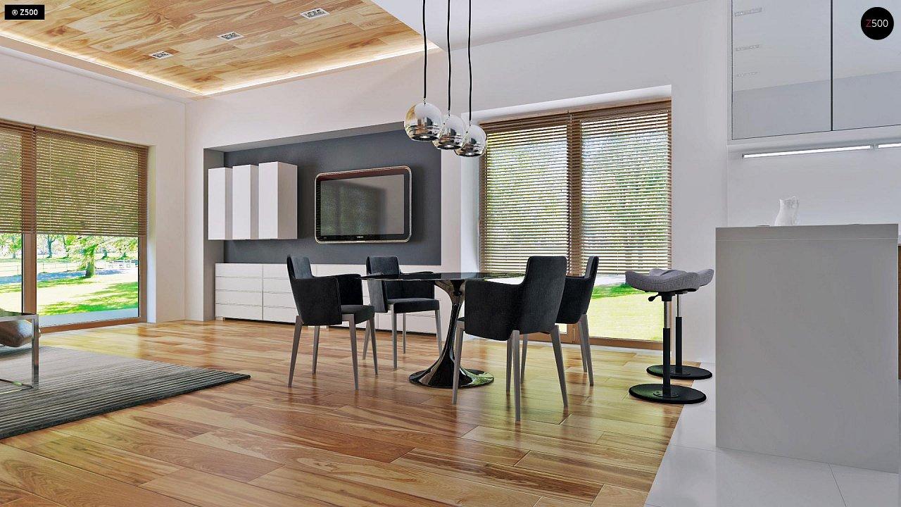 Небольшой дом в стиле хай-тек — элегантный, практичный и экономичный. - фото 3