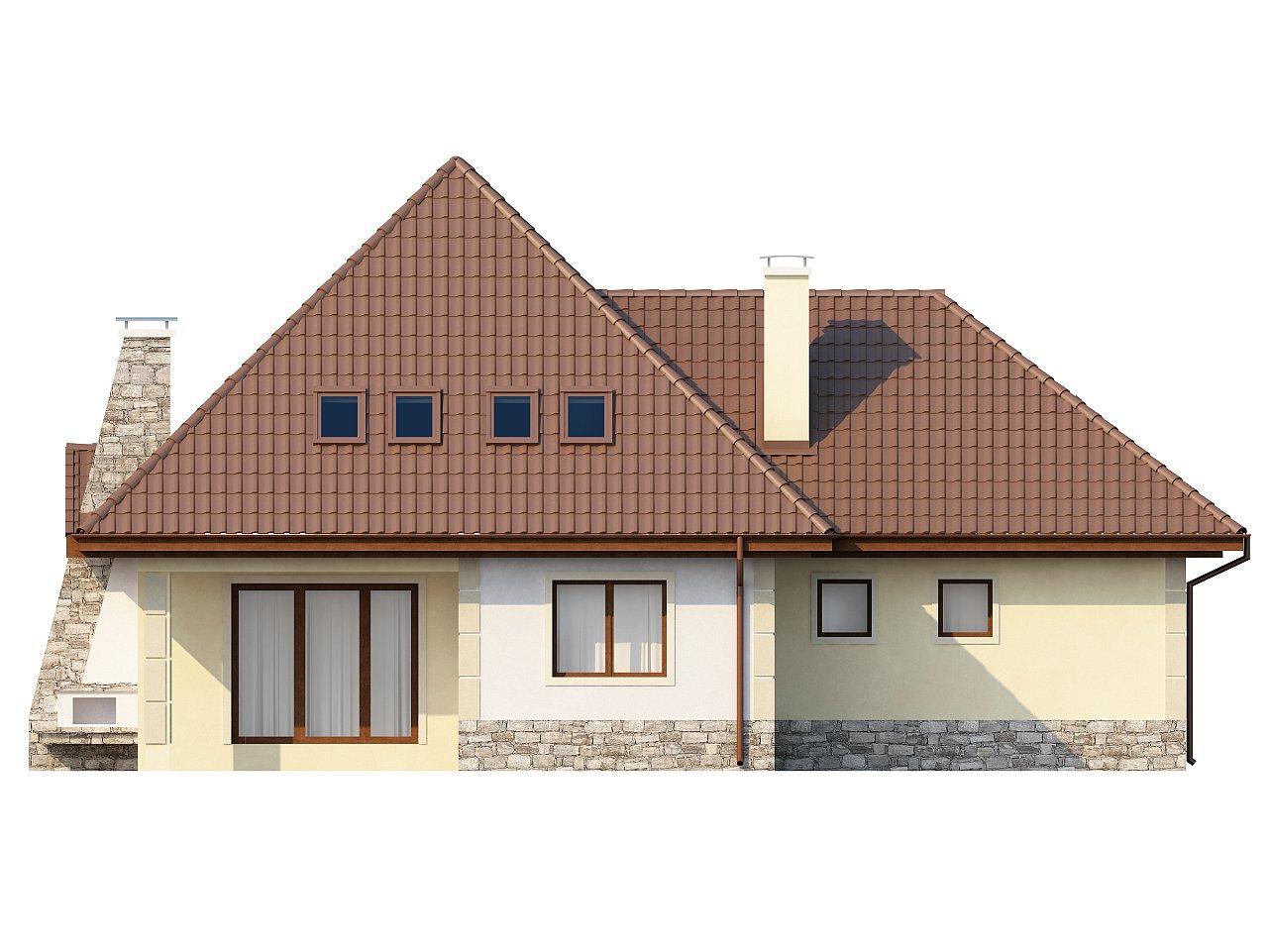 Просторный функциональный дом сложной формы. - фото 4