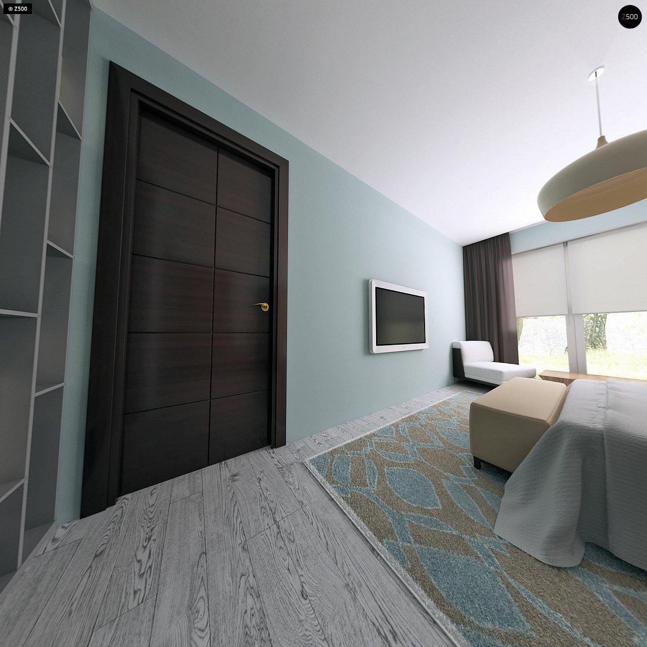 Практичный одноэтажный дом с четырьмя спальнями и гаражом. 12
