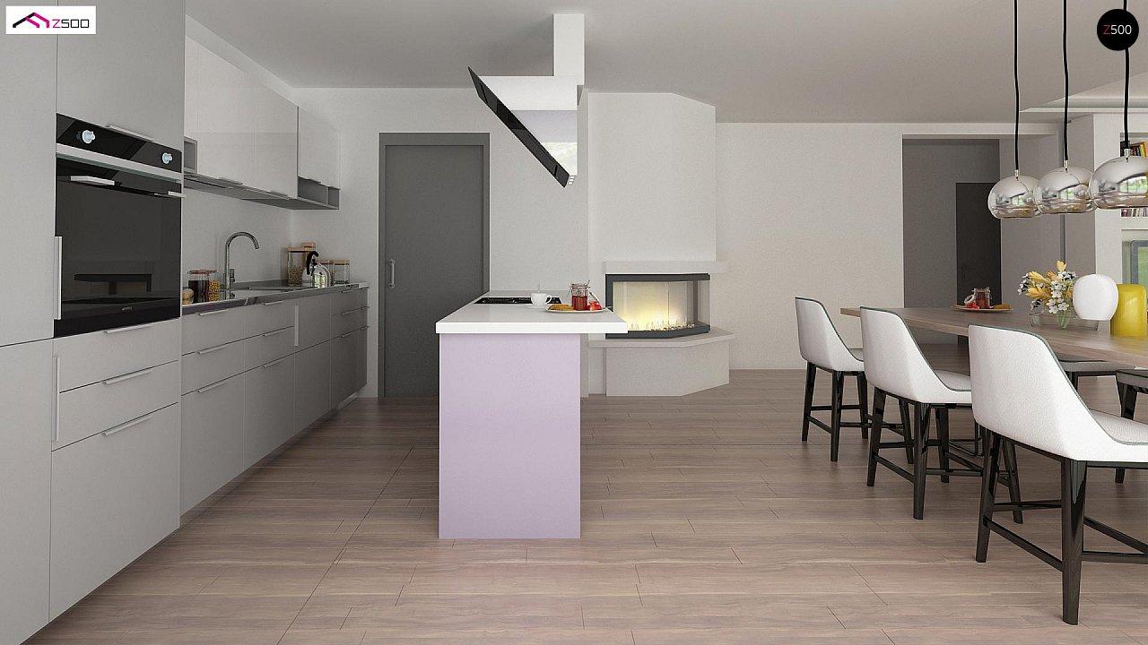 Проект комфортного и функционального одноэтажного дома. - фото 10