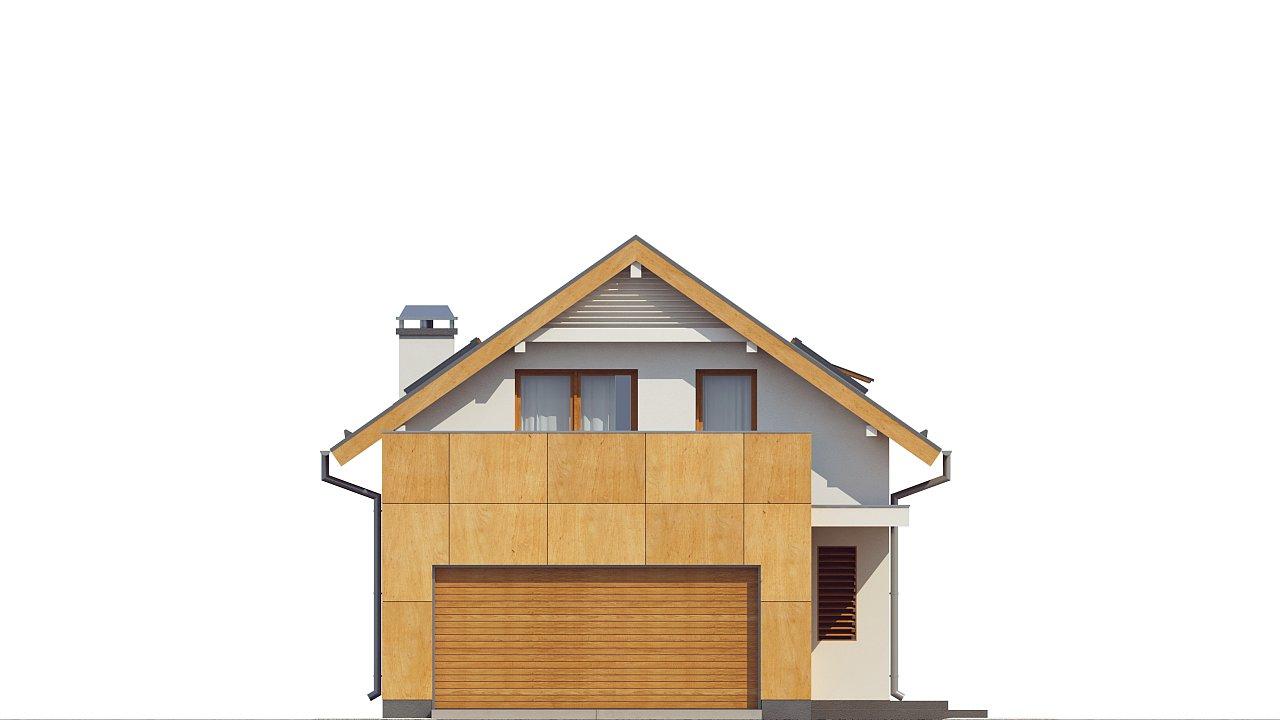 Практичный и уютный дом, идеально подходящий для вытянутого участка. 14