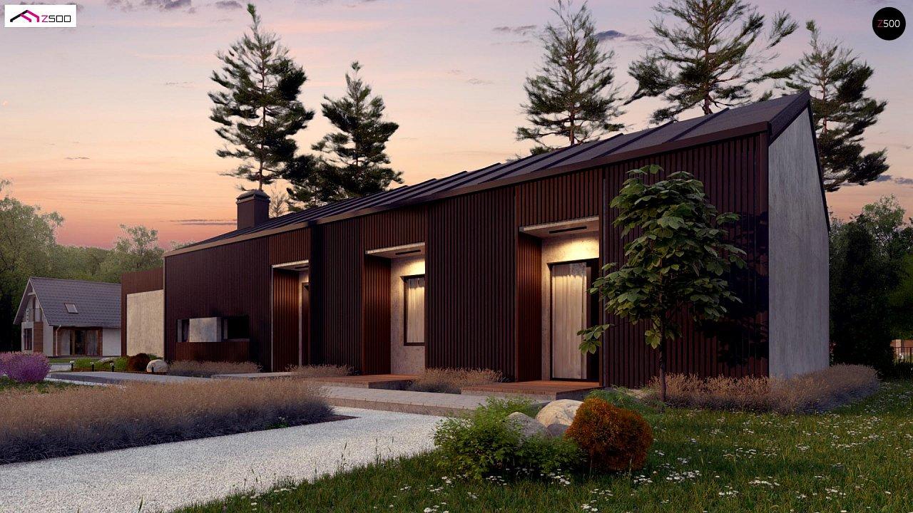 Дом в необычном современном стиле для большой семьи - фото 3