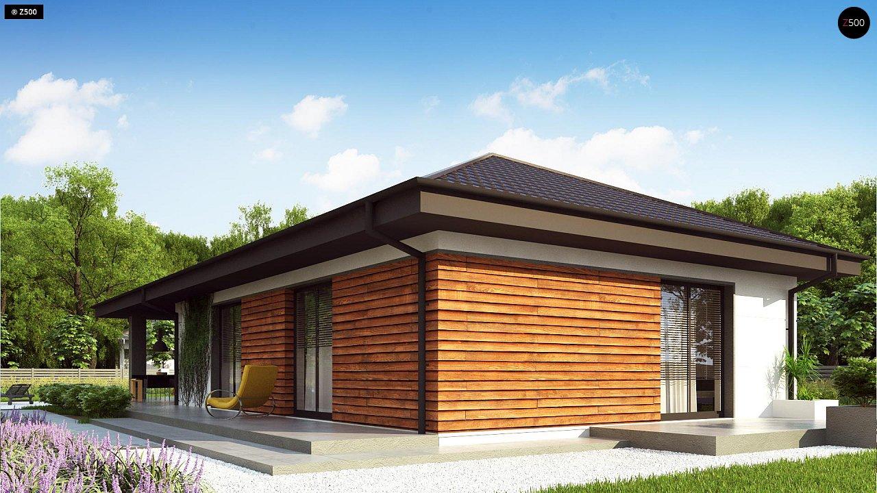 Проект комфортного и функционального одноэтажного дома. - фото 6