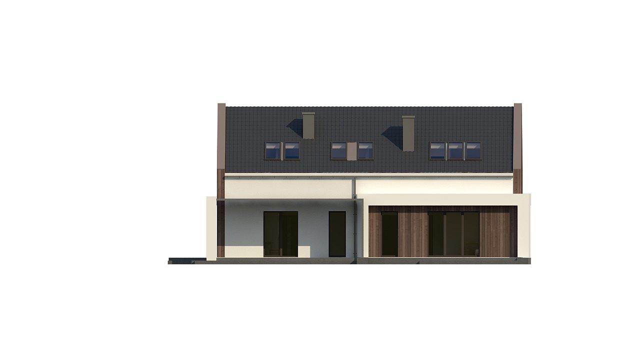 Комфортный мансардный дом для двух семей. - фото 11