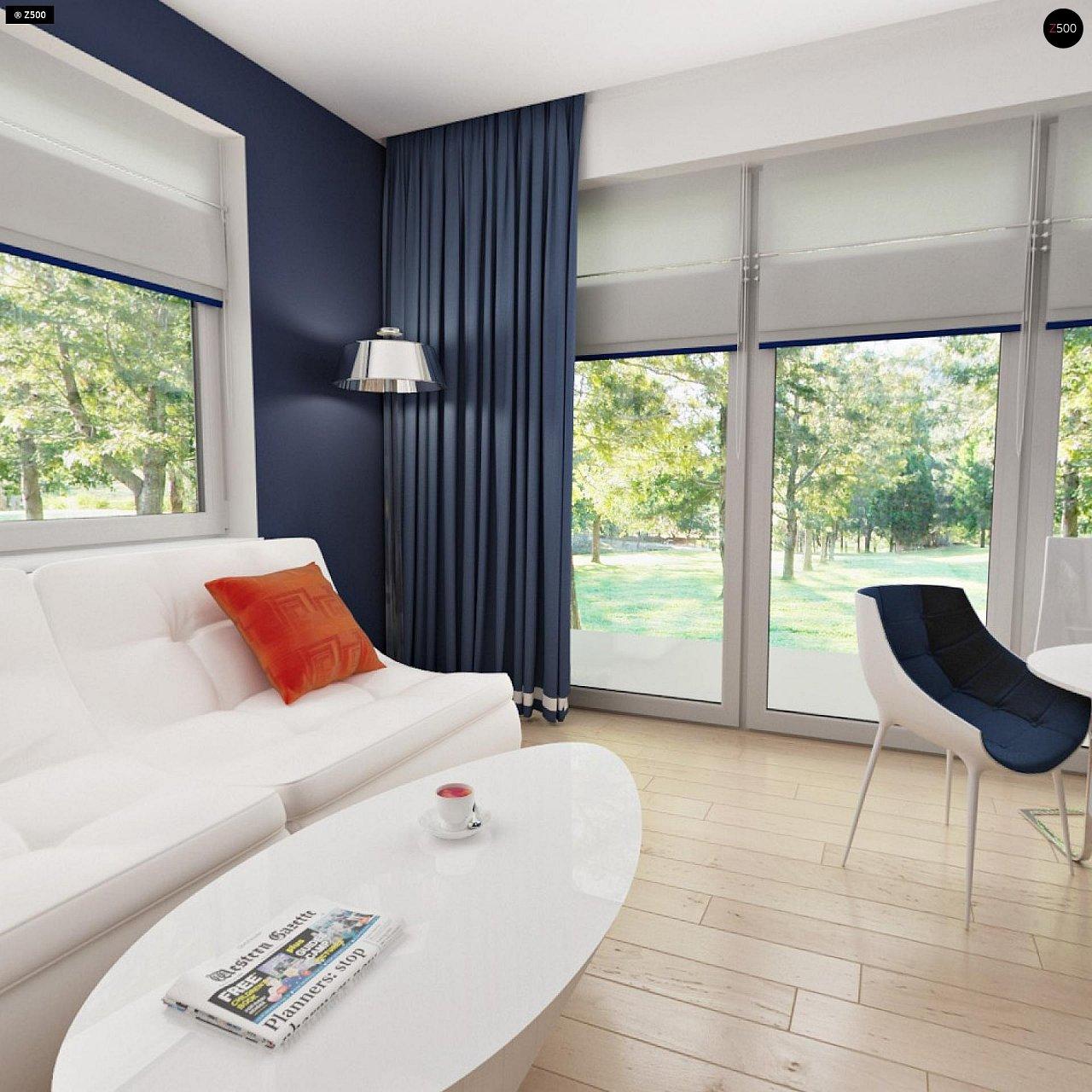 Дом с мансардным этажом, адаптированный для сейсмоопасных регионов. 9