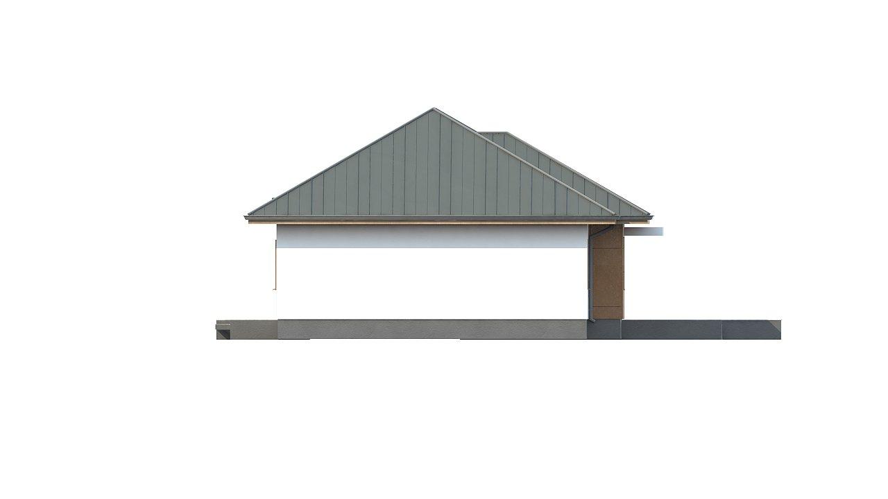 Комфортный одноэтажный дом в традиционном стиле. 12