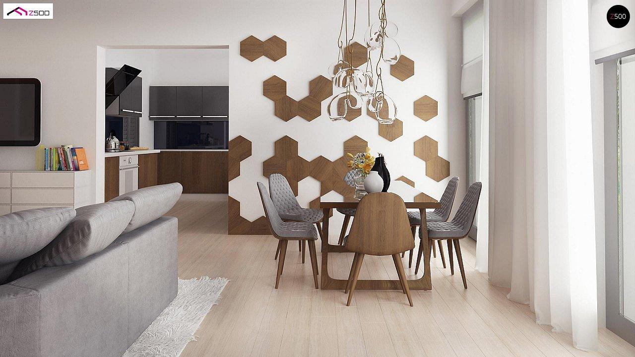Комфортный современный дом со светлым и уютным интерьером. 7