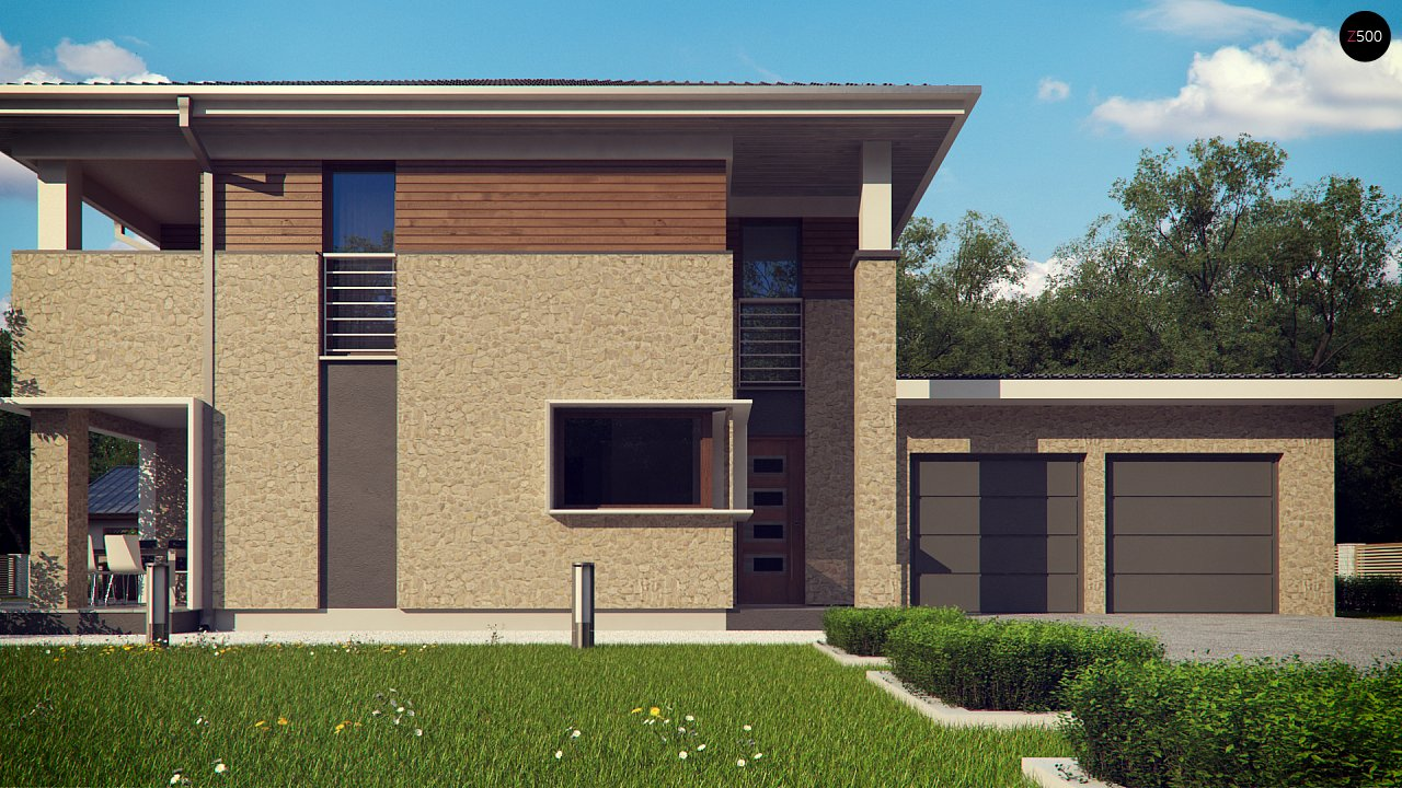 Комфортная двухэтажная усадьба с гаражом на 2 авто, с сауной на 1 этаже 8