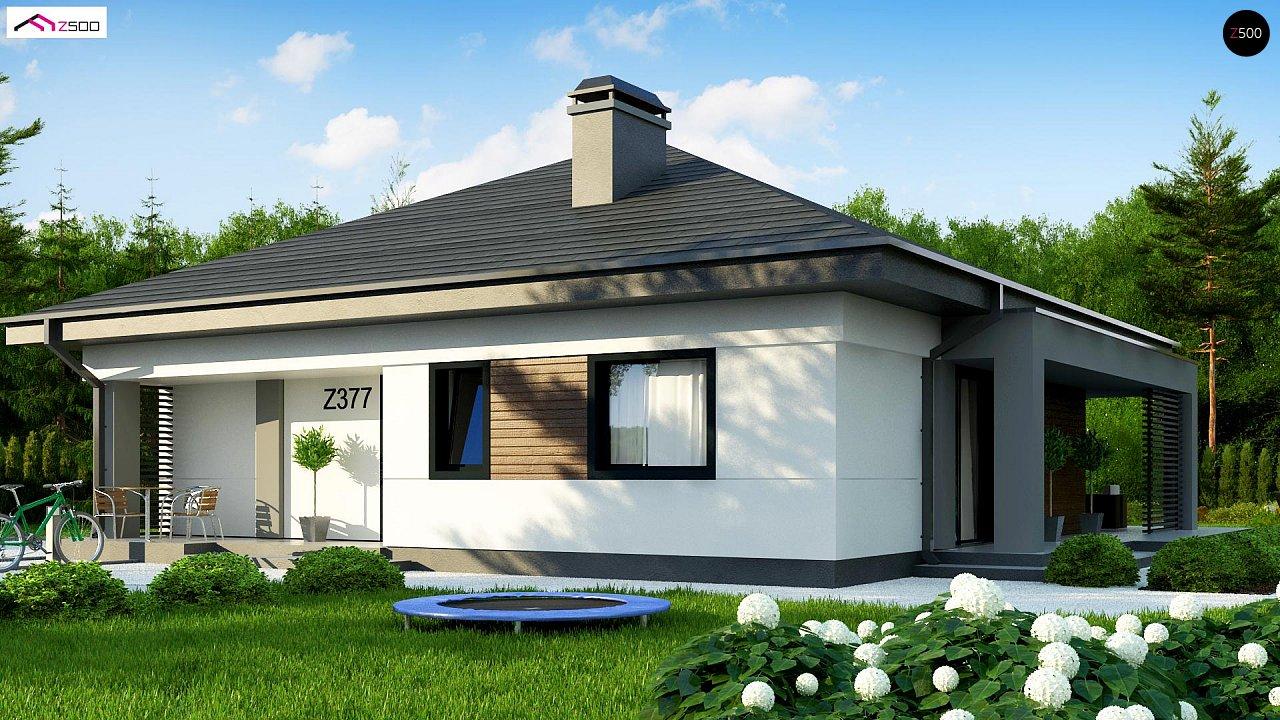 Небольшой домик с удобной планировкой 3