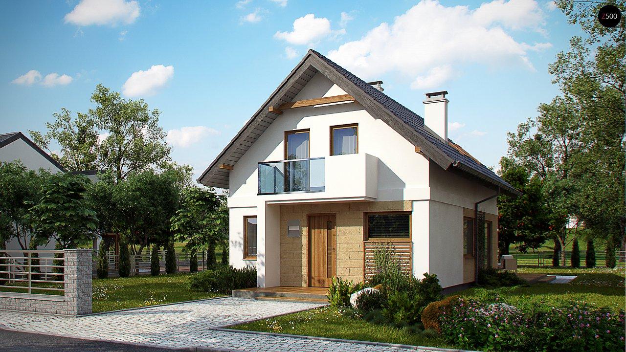 Аккуратный, практичный дом, также для узкого участка. 3