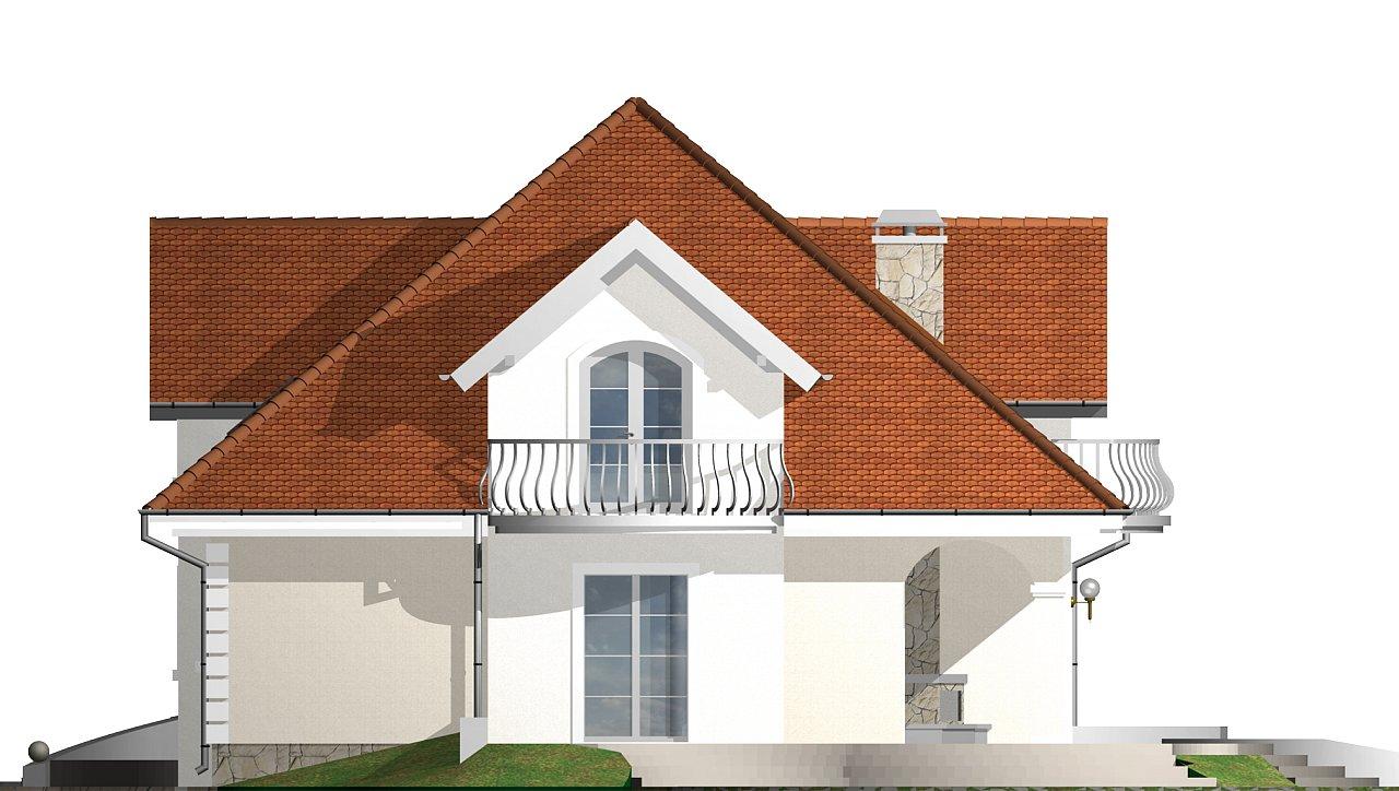 Элегантный классический дом с изящными мансардными окнами и балконами. - фото 24