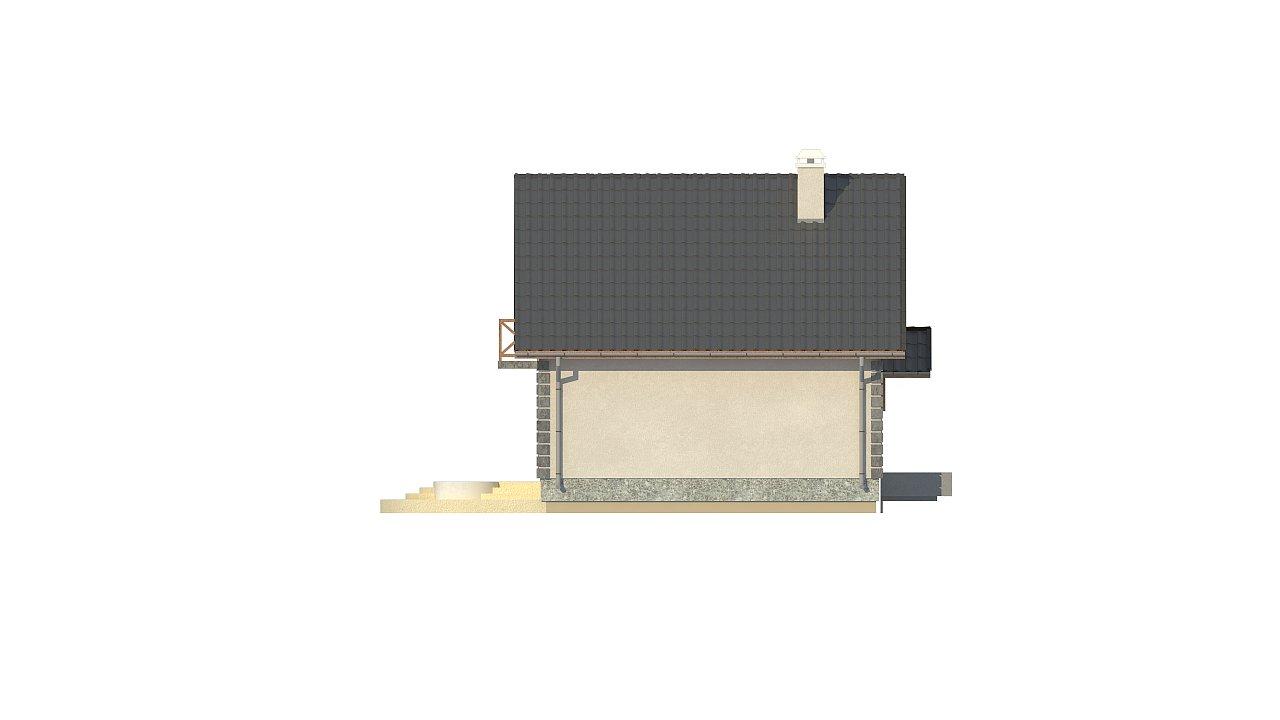 Версия проекта дома Z1 без люкарен. 26