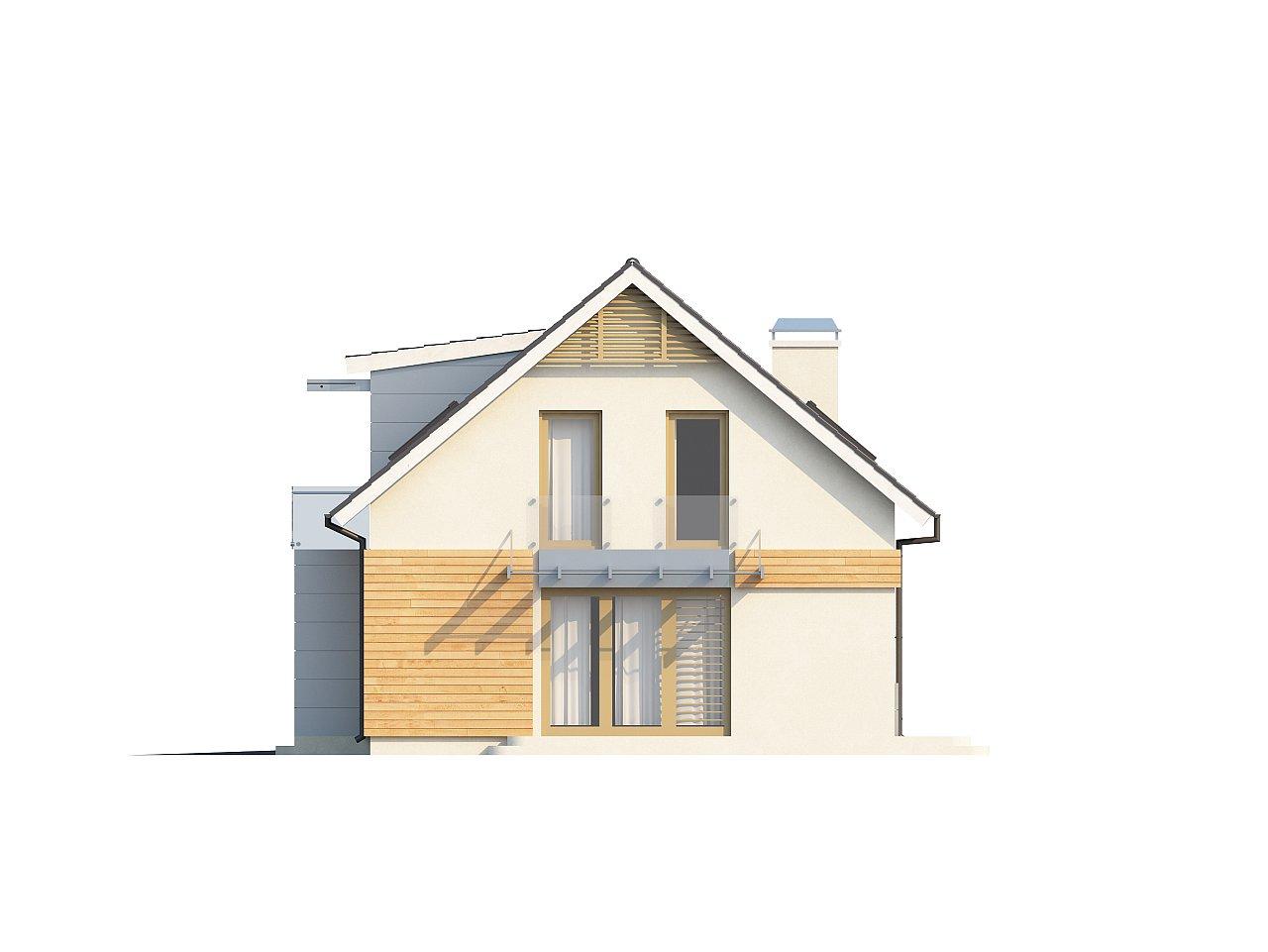 Традиционный практичный дом с современными элементами архитектуры. 11