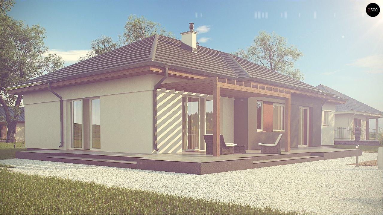 Комфортный одноэтажный дом в традиционном стиле. 5