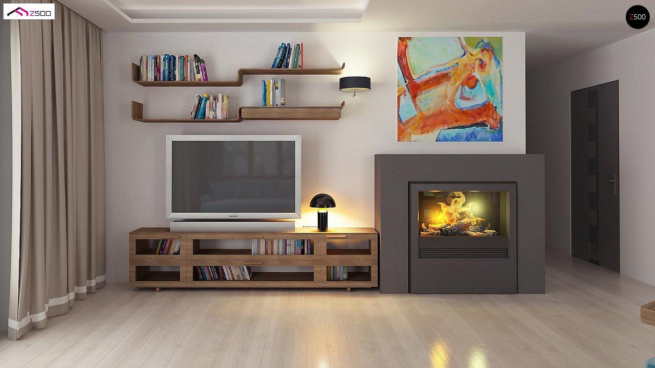 Проект компактного и функционального одноэтажного дома 8