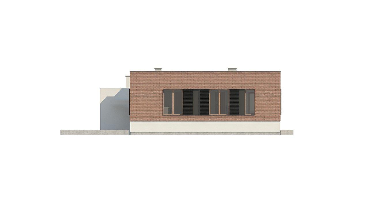 Современный дом минималистичного дизайна с подвалом - фото 14