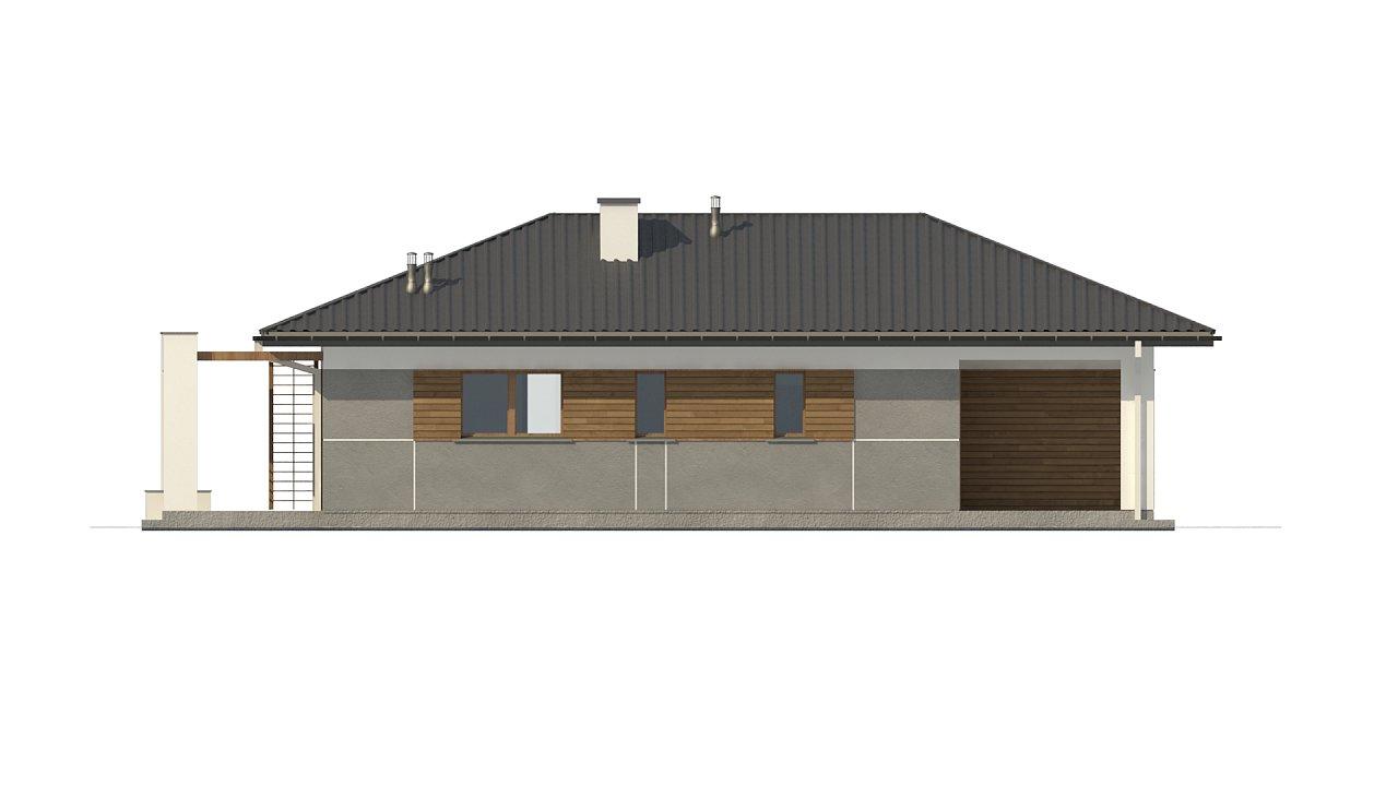 Одноэтажный функциональный дом для небольшой семьи - фото 8