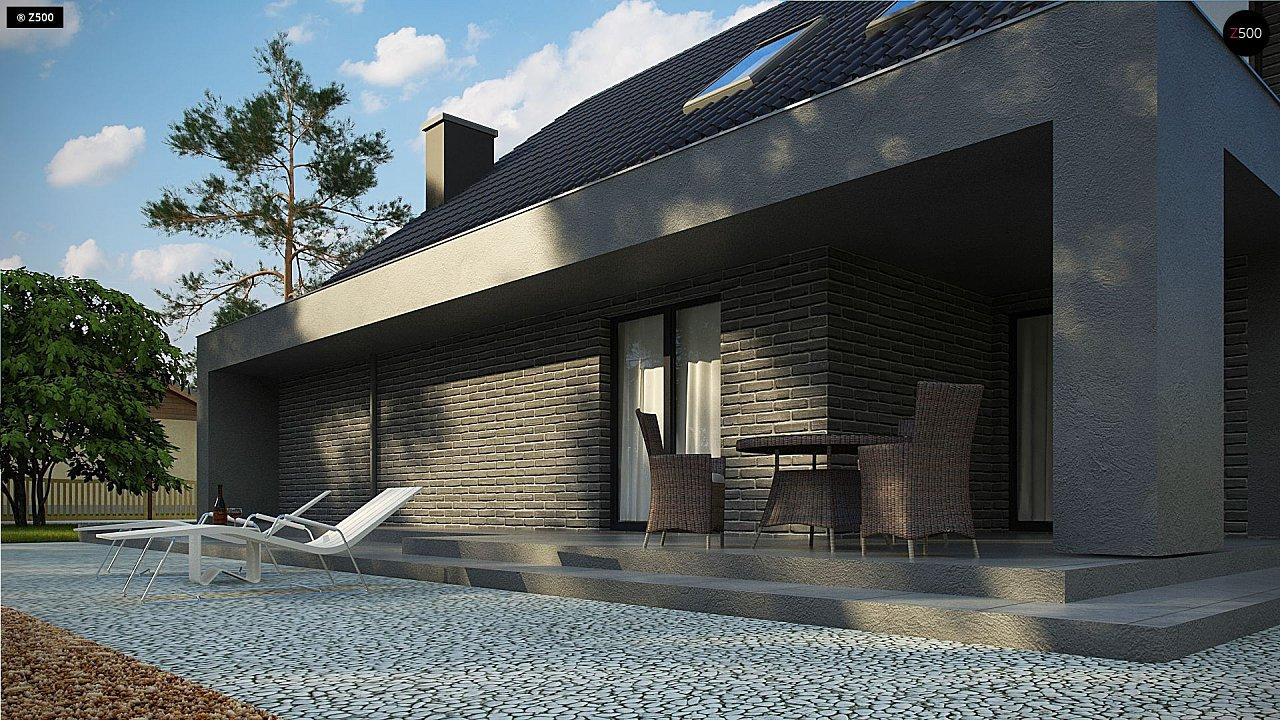 Проект комфортного дома в современном европейском стиле. 4