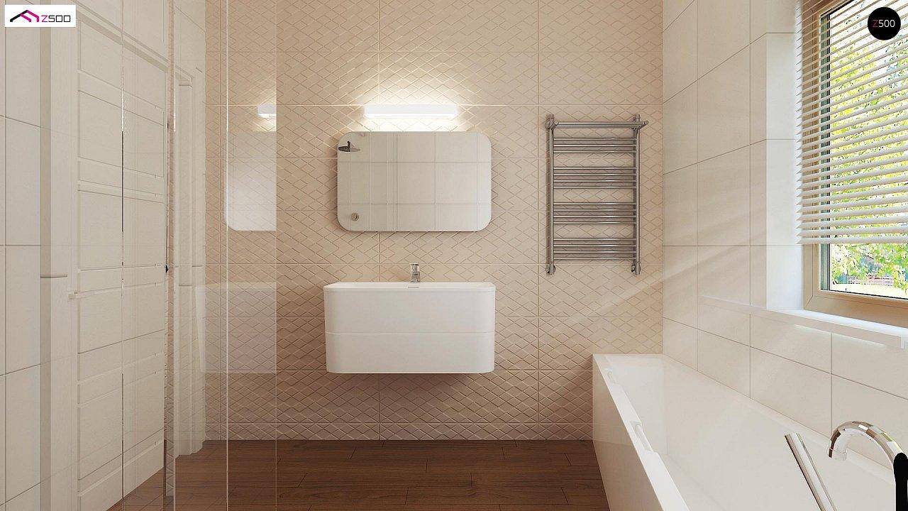 Выгодный и простой в строительстве дом полезной площадью 100 м2. 10