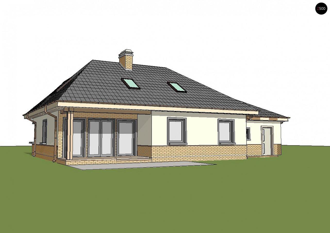Современный дом с гаражом 3