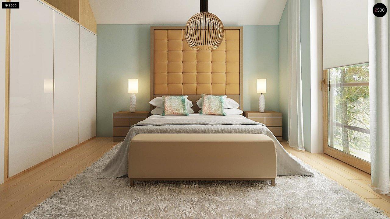 Новый вариант проекта Z38 - уютного двухэтажного дома. 8