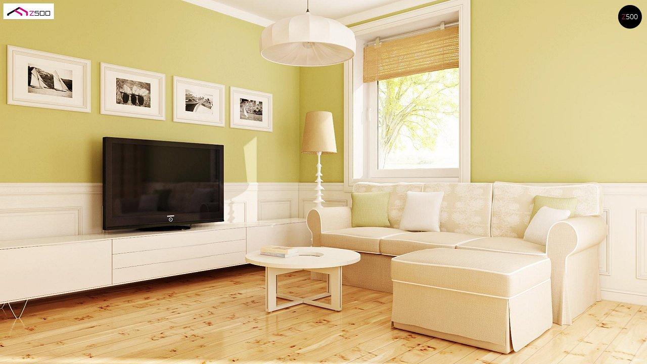 Практичный функциональный дом, недорогой в строительстве и эксплуатации. 4